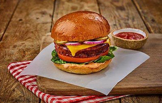 UntitJackfruit burger wide